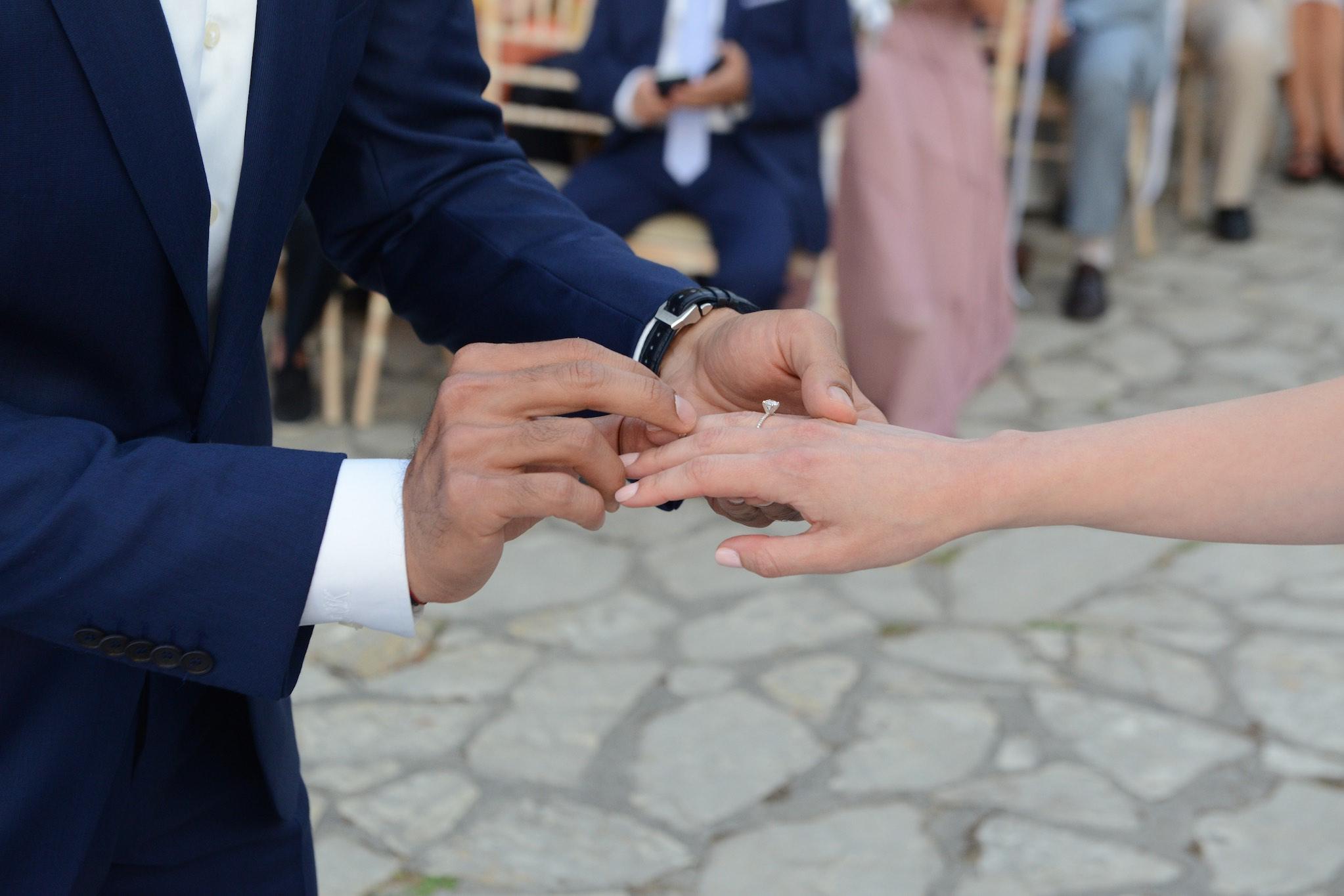Wedding at Achillion